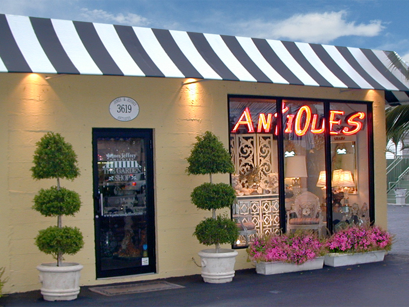 James and Jeffrey Antiques Pavilion 3619 South Dixie Highway West Palm Beach Florida